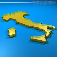 Italy shape