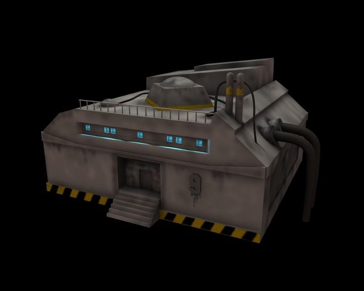 laboratory storage 3d c4d