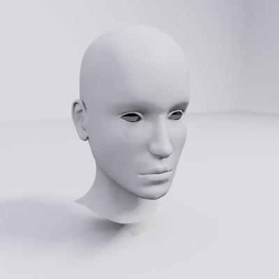 3ds head girl female