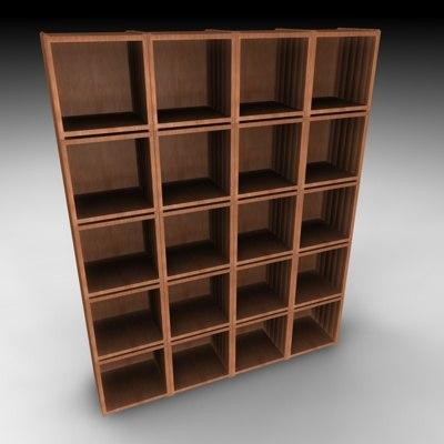 shelf 3d c4d