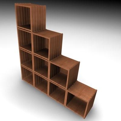 shelf 3d model