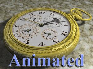 pocketwatch watch 3d model