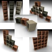 shelf 3d 3ds