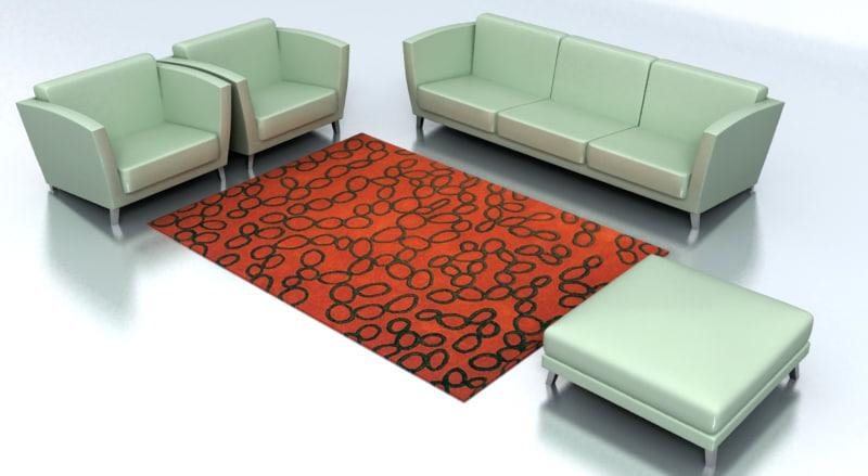 furniture sofa 3ds