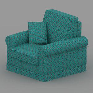 3d max chair 01
