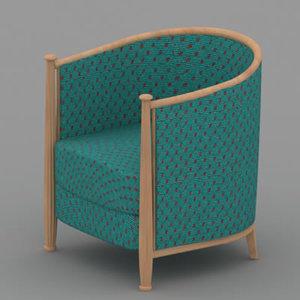 3d chair 02