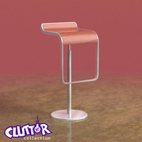 3d model piston stool