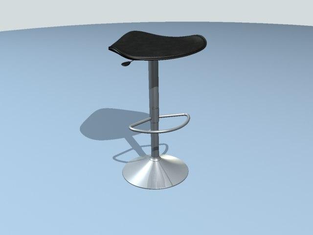 3d model stool designer