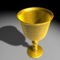free c4d model gold