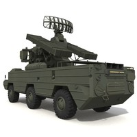 sa8 military vehicle 3d obj