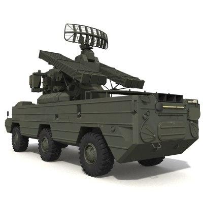 sa8 military vehicle 3d obj