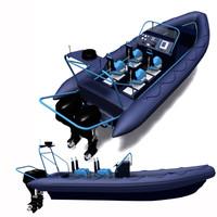 3d zodiac boat military