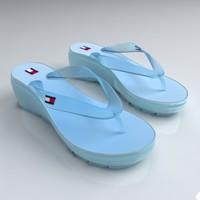 3d sandal tommy hilfiger model