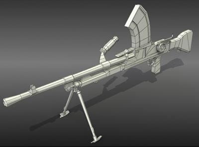 bren lmg 3d model