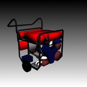3d generator engine power