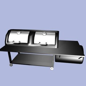 smoker grill 3ds