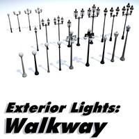 ONsite Exterior Lights - Walkway