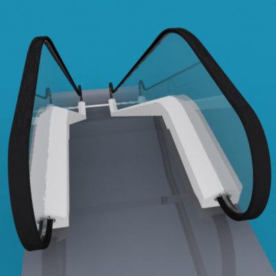 maya escalator stair