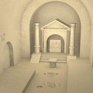 mithraeum church 3d model