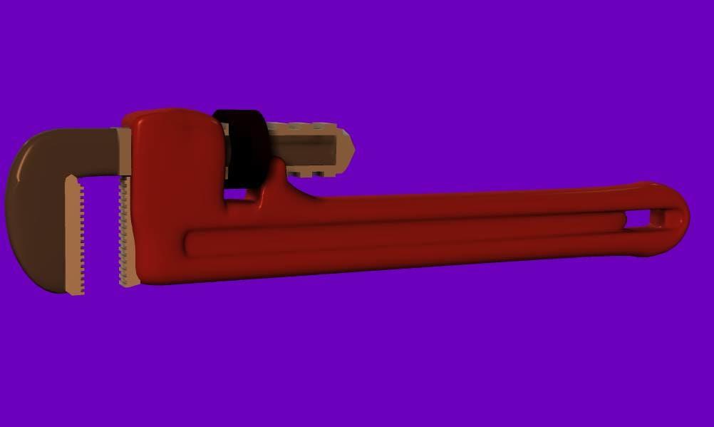 maya pipes wrench