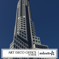Moder Art Deco Office Tower