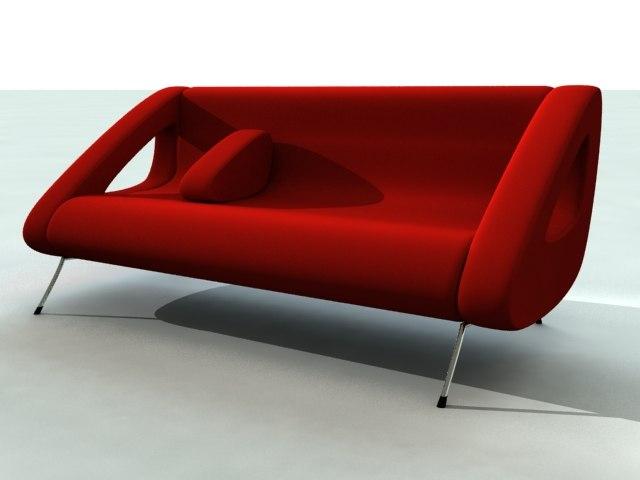 isobel sofa 3d max