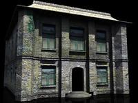 build house 3d model