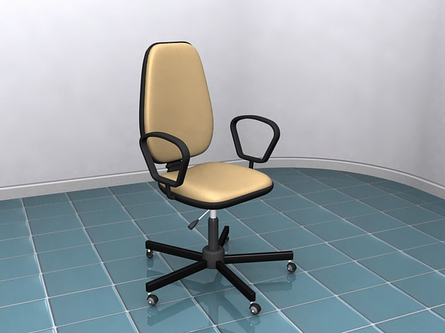 3dsmax office chair