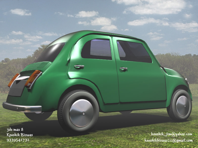little car 3d model