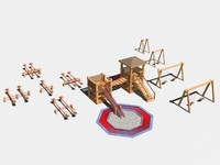 swing see-saws play-house sandpit max