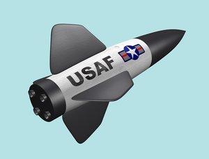 3ds rocket bomb