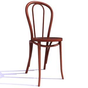 3d vienna bentwood chair