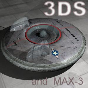 3d model ship ducted fan