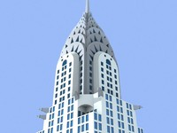chrysler building skyscrapers 3ds