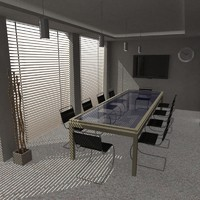 conference room 3d x