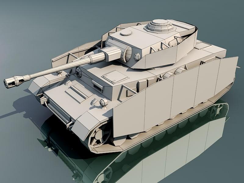 3d model of german j