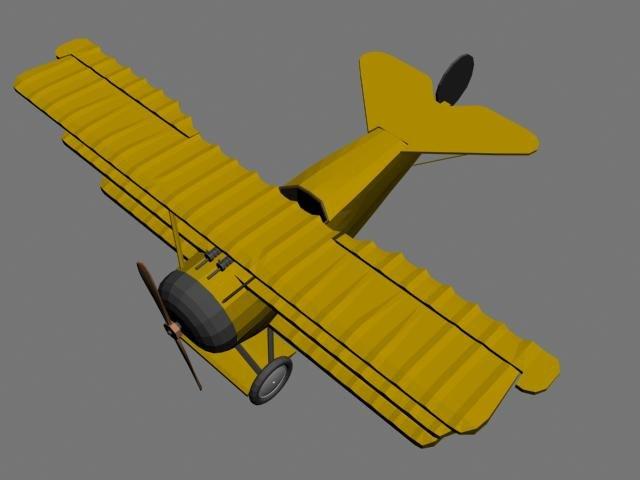 plain airplane aircraft 3d max