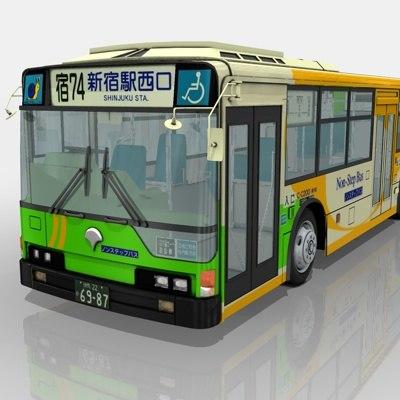mitsubishi fuso aero star 3d model