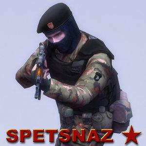 3ds max spetsnaz ak74 combat