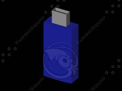 free usb flash an8 flash01 3d model