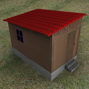 maya wooden shack
