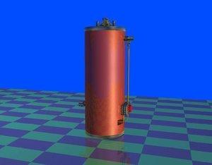 water heater appliance 3d ma