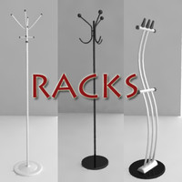 3ds max rack hanger