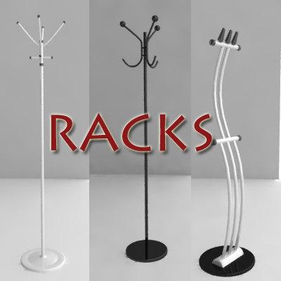 3ds max rack hanger