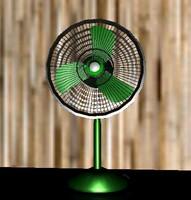 3d model pedistal fan