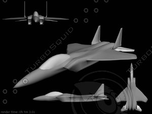 obj f-15 fighter