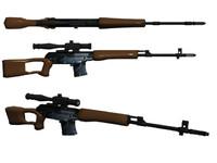 3d dragunov sniper model