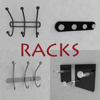 3d rack hanger model