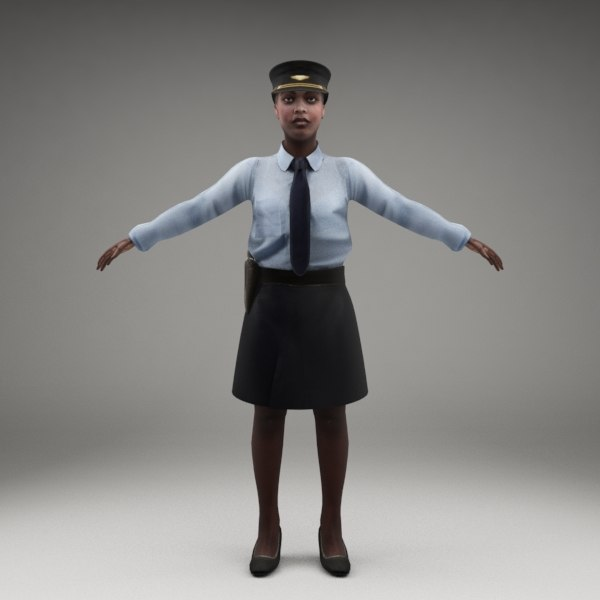 axyz rigged characters 3d model