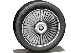 car rim tire c4d